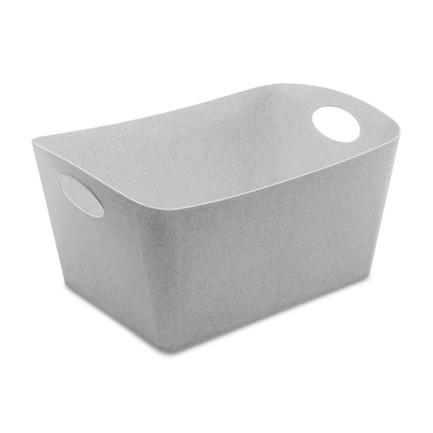 Контейнер для хранения Boxxx L Organic (15 л), 23.5x46.8x32 см, серый 5743670 Koziol контейнер для хранения koziol boxxx 48 31 24 см голубой