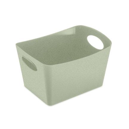 Контейнер для хранения Boxxx S Organic (1 л), 10.7x19x12.6 см, зеленый 5745668 Koziol контейнер для хранения koziol boxxx 48 31 24 см голубой
