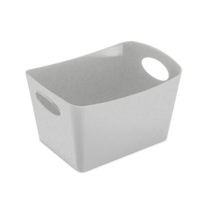 Контейнер для хранения Boxxx S Organic (1 л), 10.7x19x12.6 см, серый 5745670 Koziol контейнер для хранения koziol boxxx 48 31 24 см голубой