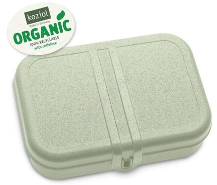 Ланч-бокс Pascal L Organic, 6.7x23.3x17 см, зеленый