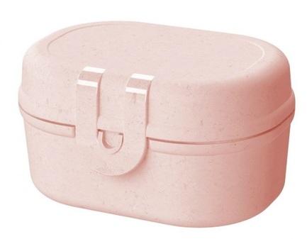 Ланч-бокс Pascal Mini Organic, 5.2x9.7x7 см, розовый 3144669 Koziol ланч бокс basic organic розовый