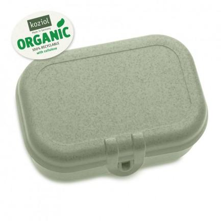 Ланч-бокс Pascal S Organic, 6x15.2x10.7 см, зеленый