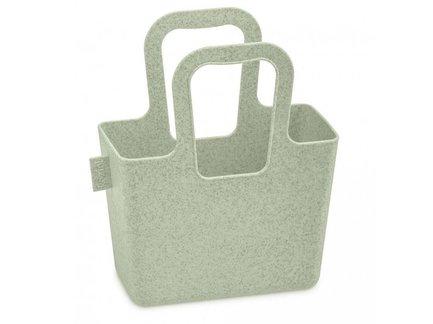 Органайзер Taschelini S Organic, 18.2x15.1x7.9 см, зеленый 5415668 Koziol органайзер для мелочей двухсторонний цвет зеленый 11 см х 7 5 см х 3 см