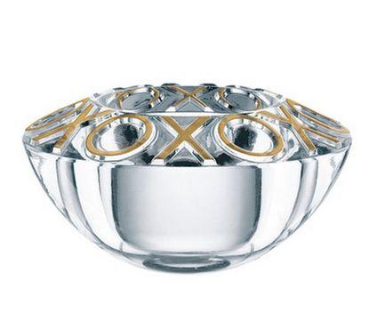 Подсвечник золотой Crystal Christmas, 11 см 84856 Nachtmann подсвечник 20 см sonne crystal