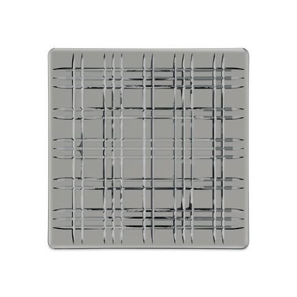 Квадратное блюдо Square, 28х28 см, серое 101451 Nachtmann блюдо square прямоугольное 42х15 см бессвинцовый хрусталь 101048 nachtmann