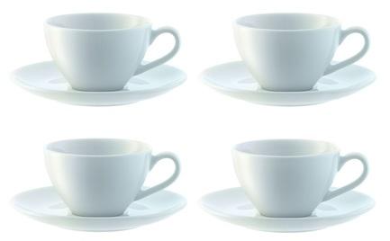 Набор чашек для эспрессо с блюдцем Dine (100 мл), 4 шт