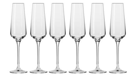 Набор фужеров для шампанского Авангард (180 мл), 6 шт KRO-F579917018043570-6 Krosno