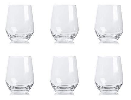 цена на Набор стаканов для воды Великолепие (400 мл), 6 шт KRO-F688596040061M80-6 Krosno