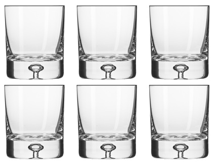 цена Набор стаканов для виски Легенда (250 мл), 6 шт KRO-F486137025071J60-6 Krosno онлайн в 2017 году
