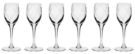 Набор рюмок для водки Романтика (40 мл), 6 шт KRO-F073346004009020-6 Krosno