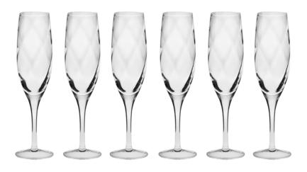 Набор фужеров для шампанского Романтика (170 мл), 6 шт KRO-F073346017020050-6 Krosno