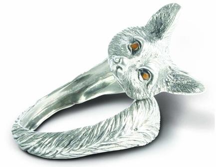 """Кольцо для салфеток """"Утренняя охота.Лиса"""", 5 см"""