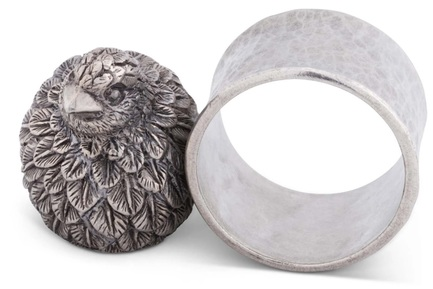 """Кольцо для салфеток """"Утренняя охота.Перепел"""", 7 см"""
