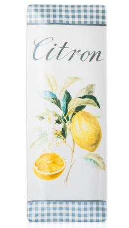 Блюдо прямоугольное Лимоны, 40x15 см CER23131 Certified International Corp блюдо квадратное 31 см certified international