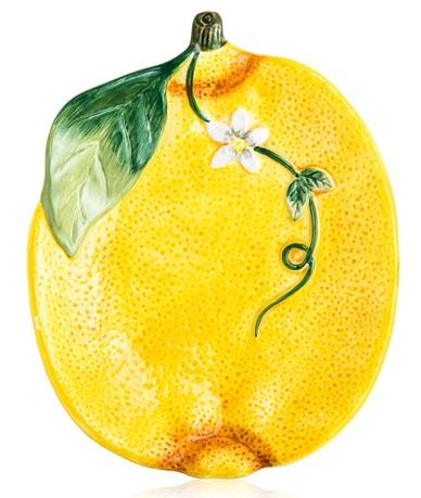 Блюдо сервировочное 3D Лимоны, 20х16 см CER23135 Certified International Corp блюдо квадратное 31 см certified international