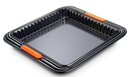 Форма с антипригарным покрытием, рифленая, 23х23х3.8 см (94103139001100)