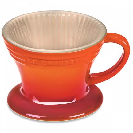 Керамическая воронка-дриппер для заваривания кофе пуровер (350 мл) (61223000900005) 00054838 Le Creuset кружка для заваривания чая lefard 350 мл красный автомобиль