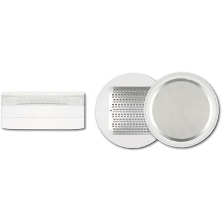 Терка для имбиря и васаби круглая, 10х4.4 см (DH-5704)