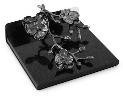 Фото - Подставка для салфеток Черная орхидея, 18.5х15.8х7.5 см MAR110873 Michael Aram подставка для салфеток черная орхидея 20 см черная mar110825 michael aram