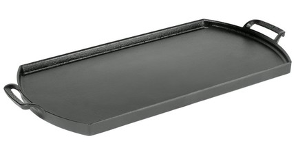 Прямоугольный противень с ручками чугунный Blacklock, 25х51 см BL77DG Lodge