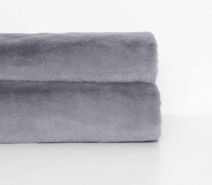 Плед меховой Frost Gray, 200х140 см