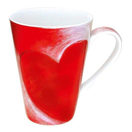 Кружка Большое сердце (400 мл) 11 1 032 0245 Konitz платье oodji ultra цвет красный белый 14001071 13 46148 4512s размер xs 42 170