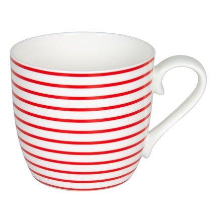 Кружка Линии - клубника (425 мл) 11 2 057 2336 Konitz платье oodji ultra цвет красный белый 14001071 13 46148 4512s размер xs 42 170