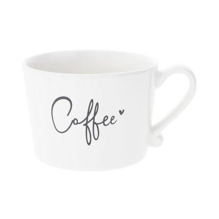 Чашка White Coffee Black (300 мл) RJ/CUP 019 BL Bastion Collections