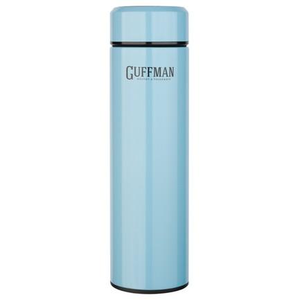 Термос Stellar (420 мл), 23х6 см, голубой перламутр N015-047B Guffman шкатулка купюрница sima land собачка осень цвет голубой 17 см х 9 см х 6 см