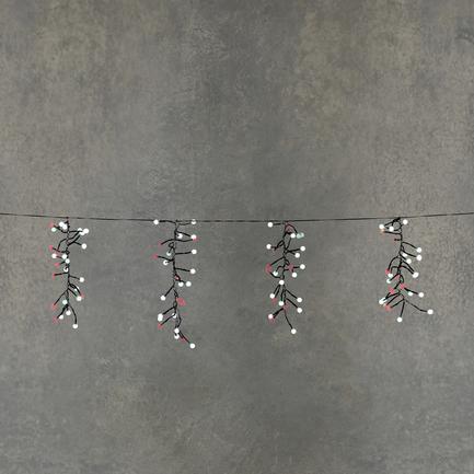 Гирлянда Гроздья ягод, мультиколор, 130 ламп, 8F, 6.2 м 84993 Luca lights