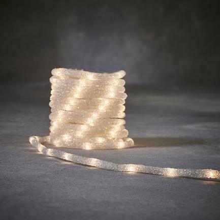 Гирлянда Дюралайт, белый, 100 ламп, 8 функций, 5 м 84083 Luca lights