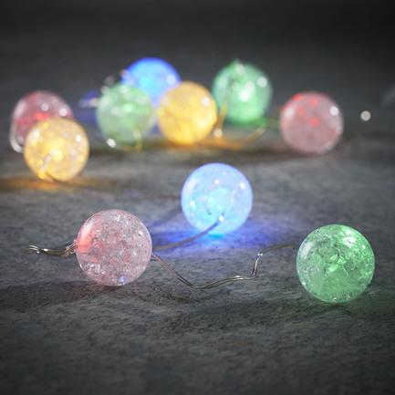 Гирлянда с разноцветными шариками, 10 ламп, 1 м 83802 Luca lights