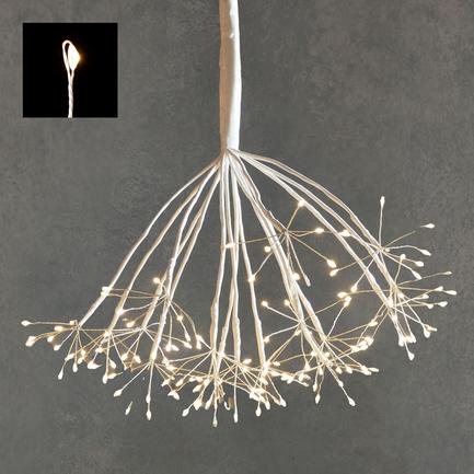Подвесной Одуванчик, мерцающий теплый белый свет, 160 ламп 84894 Luca lights