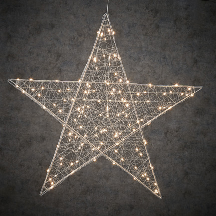 Подвесная объемная Звезда 160 ламп, белый свет, 78 см 84883 Luca lights