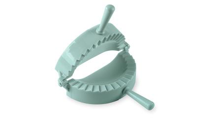Форма для пельменей, кальцоне и пирожков, 15х8 см, серо-голубая