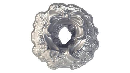 Форма для выпечки 3D Nordic Ware Праздничный венок 2,2л NRD85348