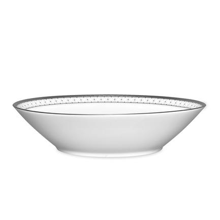"""Тарелка суповая """"Рочестер, платиновый кант"""", 22.6 см"""