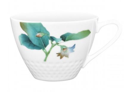 """Чашка чайная """"Овощной букет.Баклажан"""" (210 мл)"""