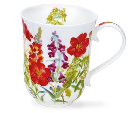 Кружка Загородные цветы в красных тонах.Бремор (330 мл), 10.5 см DNN78680222 Dunoon