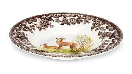 Тарелка суповая Олень Английские охотничьи мотивы, 23 см SPD-WLDE0215 Spode чайник заварочный spode английские охотничьи мотивы 1 3 л