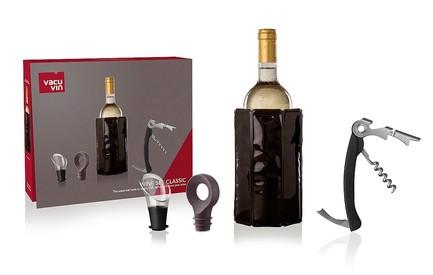 Фото - Подарочный набор для вина Classic, 4 пр. 3890160 VacuVin подарочный набор giftset wine essentials 6 пр 6889060 vacuvin
