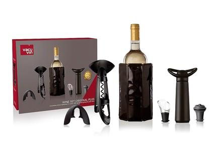 Фото - Подарочный набор для вина Original Plus, 6 пр. 3890360 VacuVin подарочный набор giftset wine essentials 6 пр 6889060 vacuvin