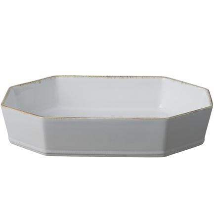 Блюдо Luzia, 40х26х7 см, белое PER351-02818A Costa Nova блюдо roda 27 5х15 5х1 4 см белое rtr281 vc7172 costa nova