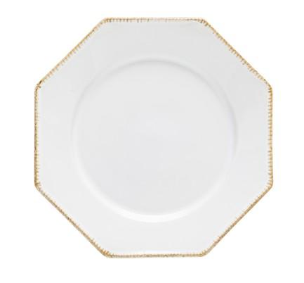 Тарелка Luzia, 30 см, белая