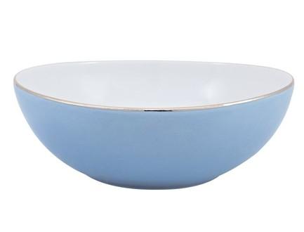 Салатник Silver Rain (430 мл), 15х6 см, голубой