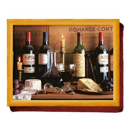 Поднос на подушке Vintage Wine, 44х33х6 см