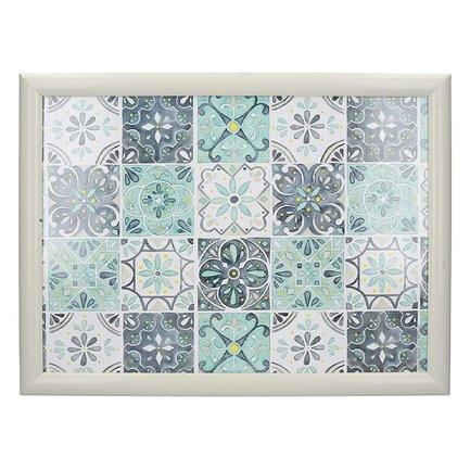 Поднос на подушке Green Tile, 44х33х6 см