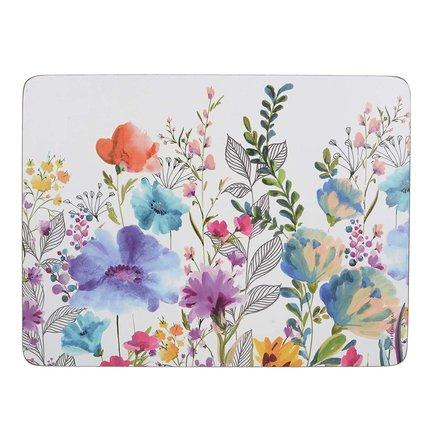 Салфетка подстановочная Meadow Floral, 30х23 см, 6 шт