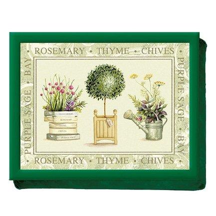 Поднос на подушке Topiary, 44х33х6 см