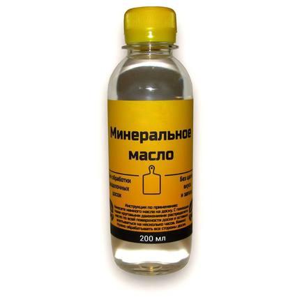 Минеральное масло для обработки разделочных досок, 200 мл
